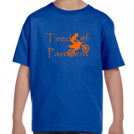 Youth Cotton T-Shirt - Dirt Bike