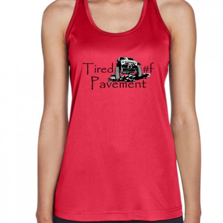 Ladies' Performance Tank - Jeep