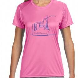 Ladies' Cooling Performance T-Shirt - Fishing
