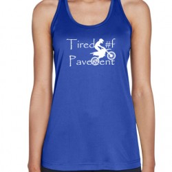 Ladies' Performance Tank - Dirt Bike